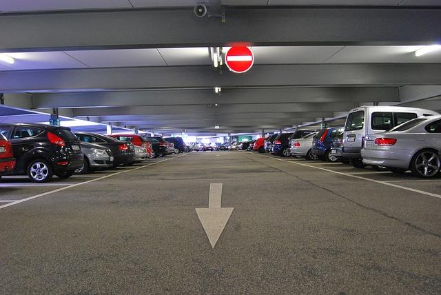 parkoviště pro auta