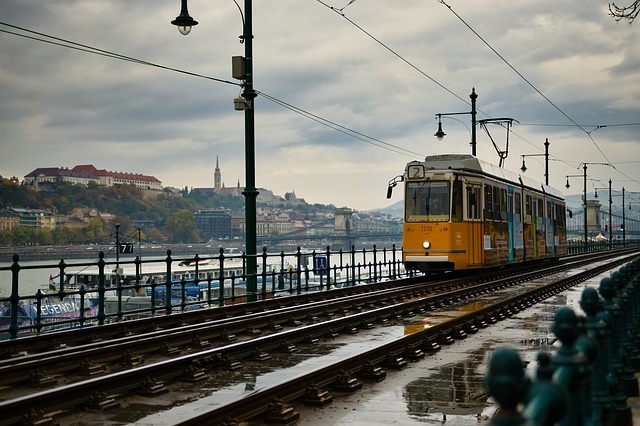 tramvaj v Budapešti