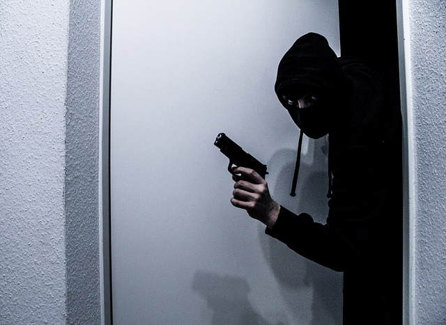 lupič s pistolí