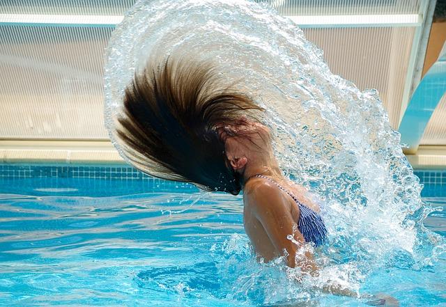 voda z vlasů