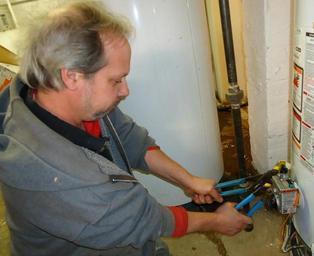 práce instalatéra